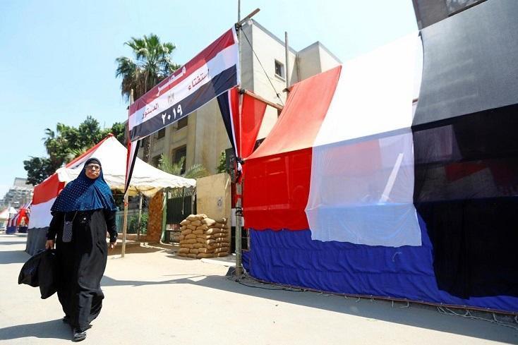 شروع رأی گیری از مصریان خارج نشین در همه پرسی اصلاحات قانون اساسی