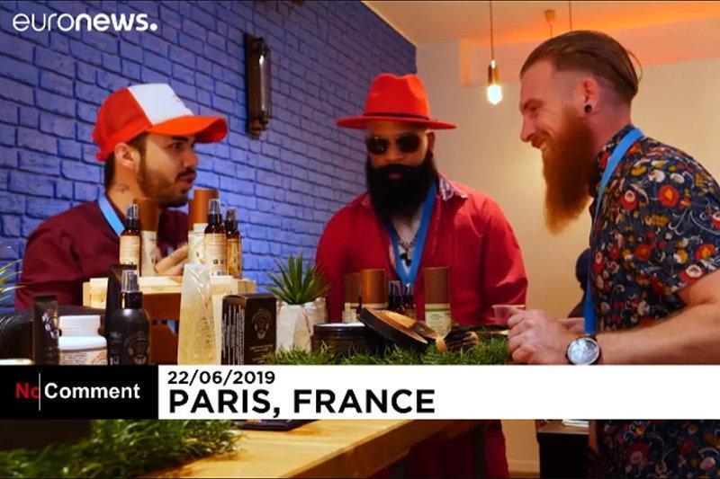 فیلم ، انتخاب ریش و سبیل برتر در پاریس!