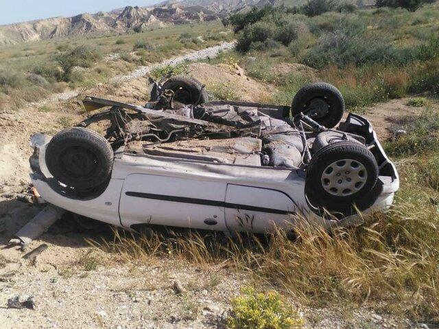 واژگونی پژو در خرم آباد 4 کشته و زخمی بر جای گذاشت