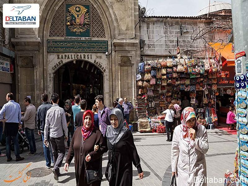 معرفی بازار بزرگ استانبول