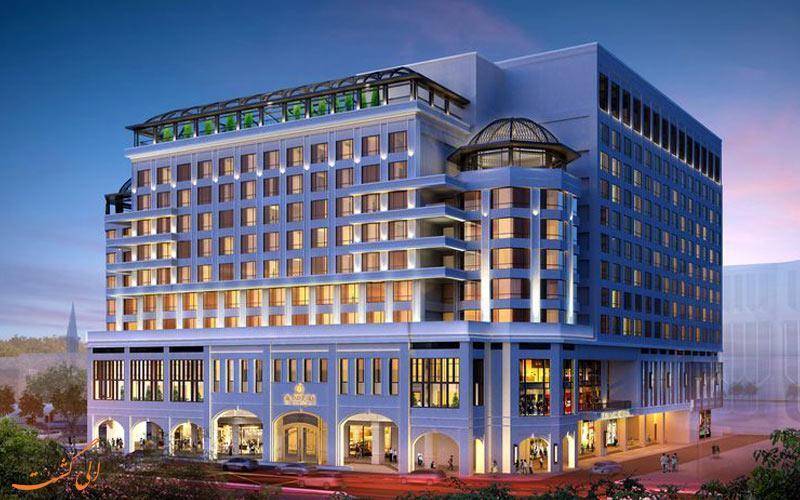 معرفی هتل 5 ستاره گرند پارک سیتی هال در سنگاپور