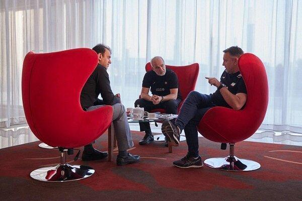 جلسه فتاحی با کولاکوویچ و خوش خبر درباره وضعیت تیم ملی والیبال