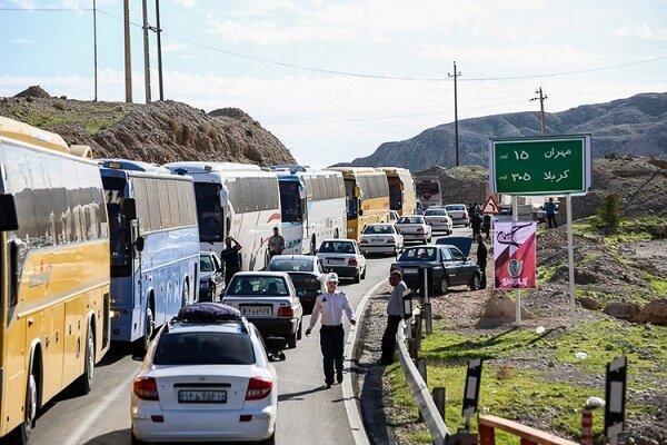 اعزام بالغ بر 250 اتوبوس از گیلان به مرز مهران