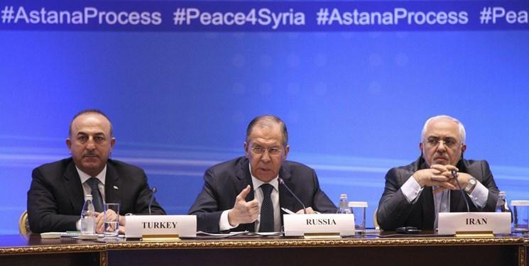 بیانیه نشست سه جانبه وزرای خارجه ضامن روند آستانه در ژنو