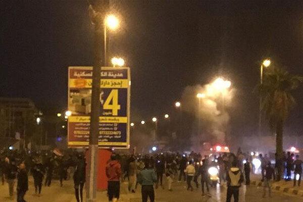 پخش مستقیم حمله به کنسولگری ایران در نجف ، 47 نیروی امنیتی زخمی شدند