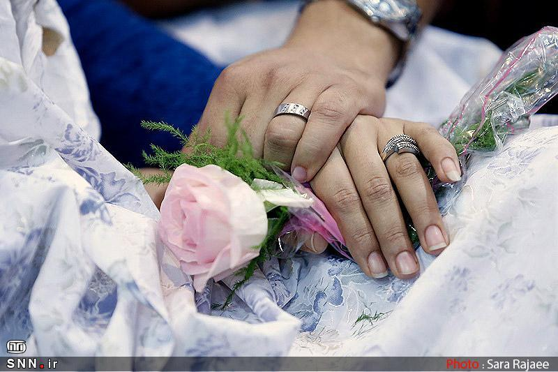 مراسم ازدواج دانشجویی در دانشگاه آزاد زنجان برگزار می گردد