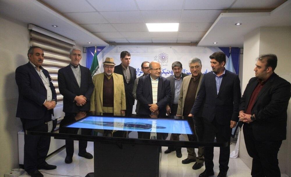نرم افزار و میز الکترونیکی کالبدشکافی تشریح یار در دانشگاه علوم پزشکی شهید بهشتی رونمایی شد