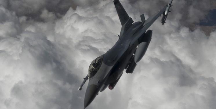 یک جنگنده اف -16 ارتش مصر سقوط کرد