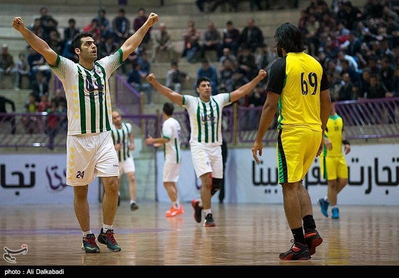 لیگ برتر هندبال، پیروزی فرازبام مقابل نیروی زمینی و فزونی ذوب آهن در شهرآورد اصفهان