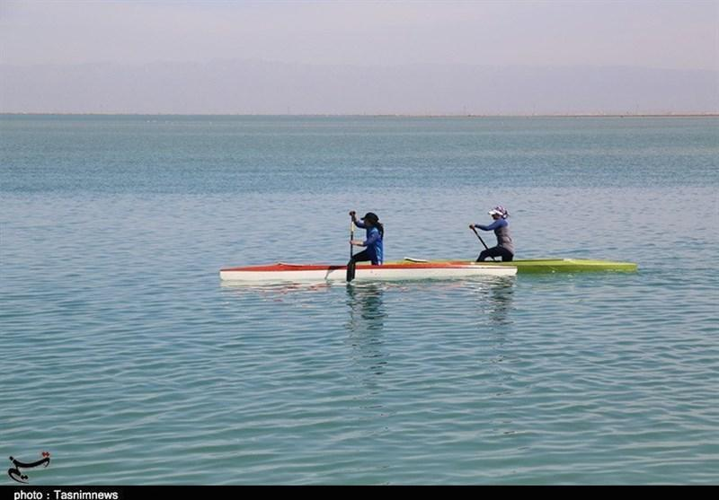 دریاچه آزادی میزبان اردوی پایانی تیم ملی آبهای آرام بانوان