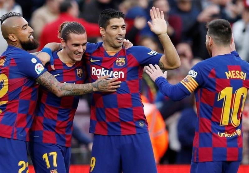به خاطر شیوع ویروس کرونا؛ بازی های بارسلونا 2 هفته بدون تماشاگر برگزار می شود