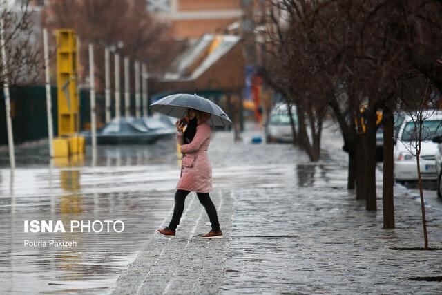 ورود 3 سامانه بارشی به کشور تا هفته اول فروردین