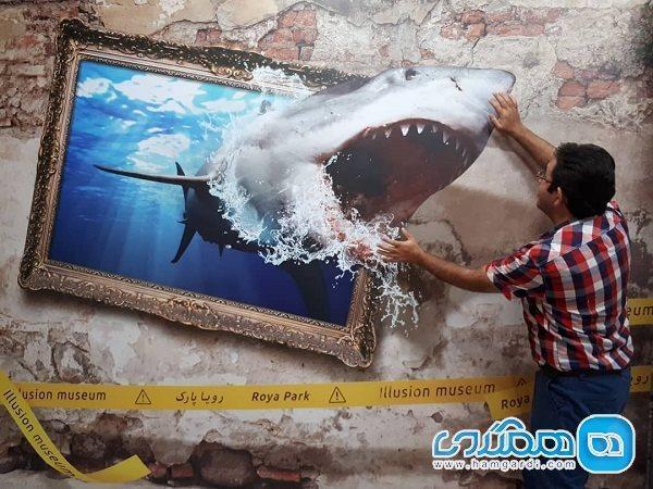 رویا پارک تهران ، نخستین موزه خطای دید کشور