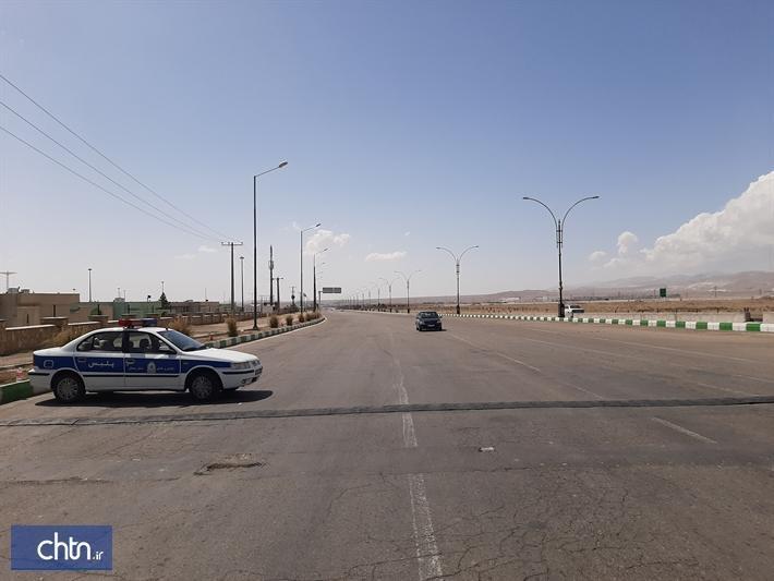 کاهش 75درصدی تردد در جاده های استان سمنان