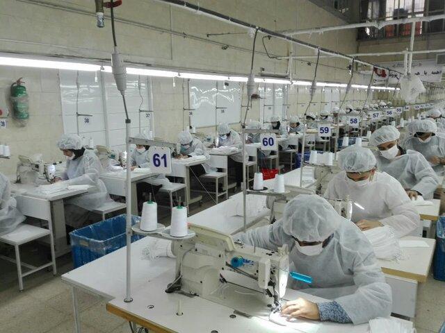 روزانه 4 میلیون ماسک سه لایه به تولیدات قبلی اضافه می گردد