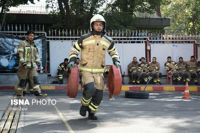 جذب 50 هزار آتش نشان داوطلب در تهران
