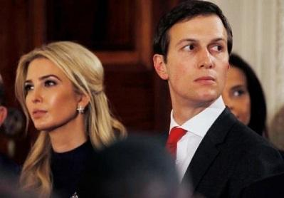 پارتی بازی در روز روشن؛ ایوانکا ترامپ و همسرش در کمیته بازگشایی آمریکا!