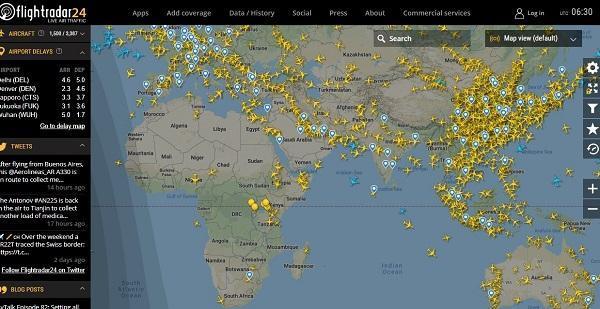 هواپیماهای زمین گیر شده دنیا به کجا رفته اند؟
