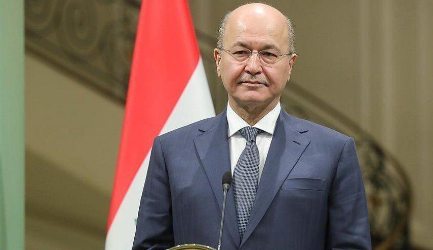 خبرنگاران رییس جمهوری عراق: تا از میان بردن عناصر باقی مانده داعش از پای نخواهیم نشست
