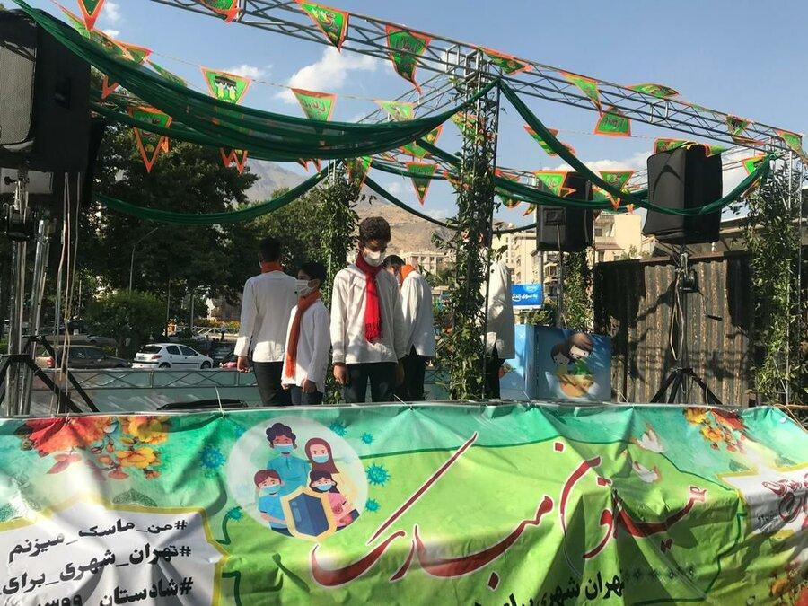 نشاط و شادی با حرکت کاروان شادستان