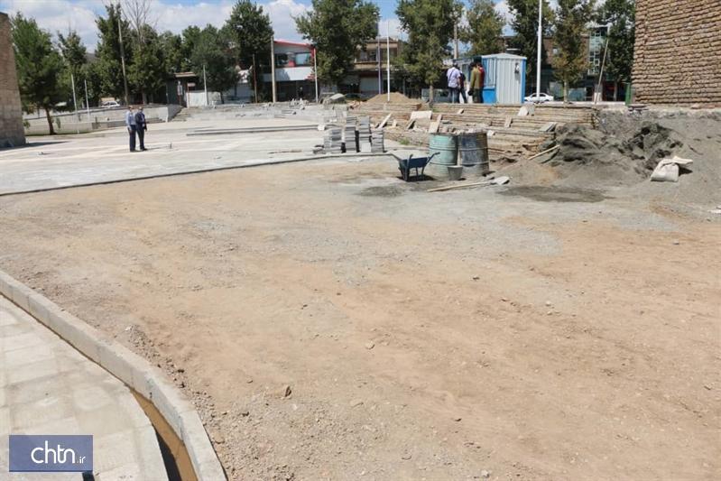 عملیات محوطه سازی کلیسای سورپ سرکیس خوی در هفته دولت به خاتمه می رسد