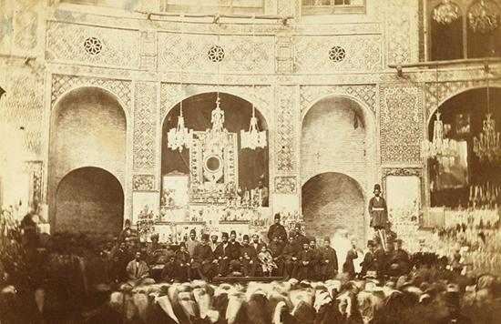 عکس های قدیمی از عزاداری محرم در عصر قاجار