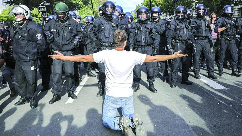 اعتراض اروپایی به محدودیت کرونایی