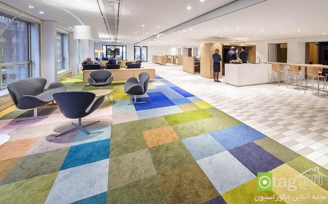 طراحی ادارجات دولتی ، ساختمان مرکزی وزارت بهداشت در هلند