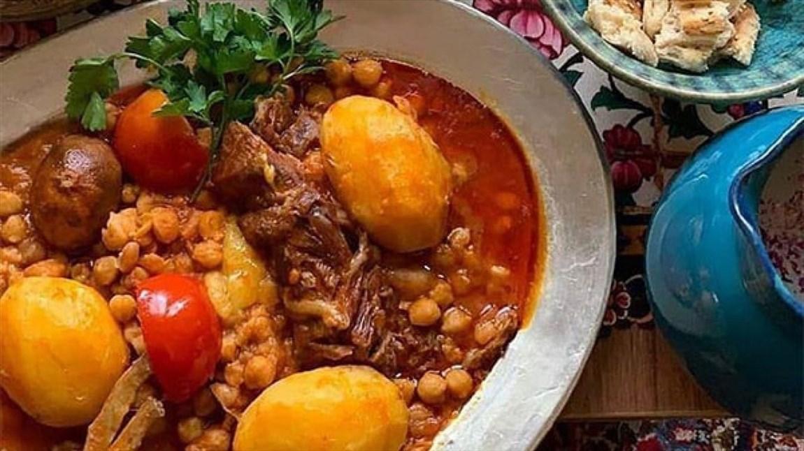 بررسی تاریخچه آبگوشت در تلویزیون، مطبخ شبکه افق از غذای لذیذ ایرانی می گوید