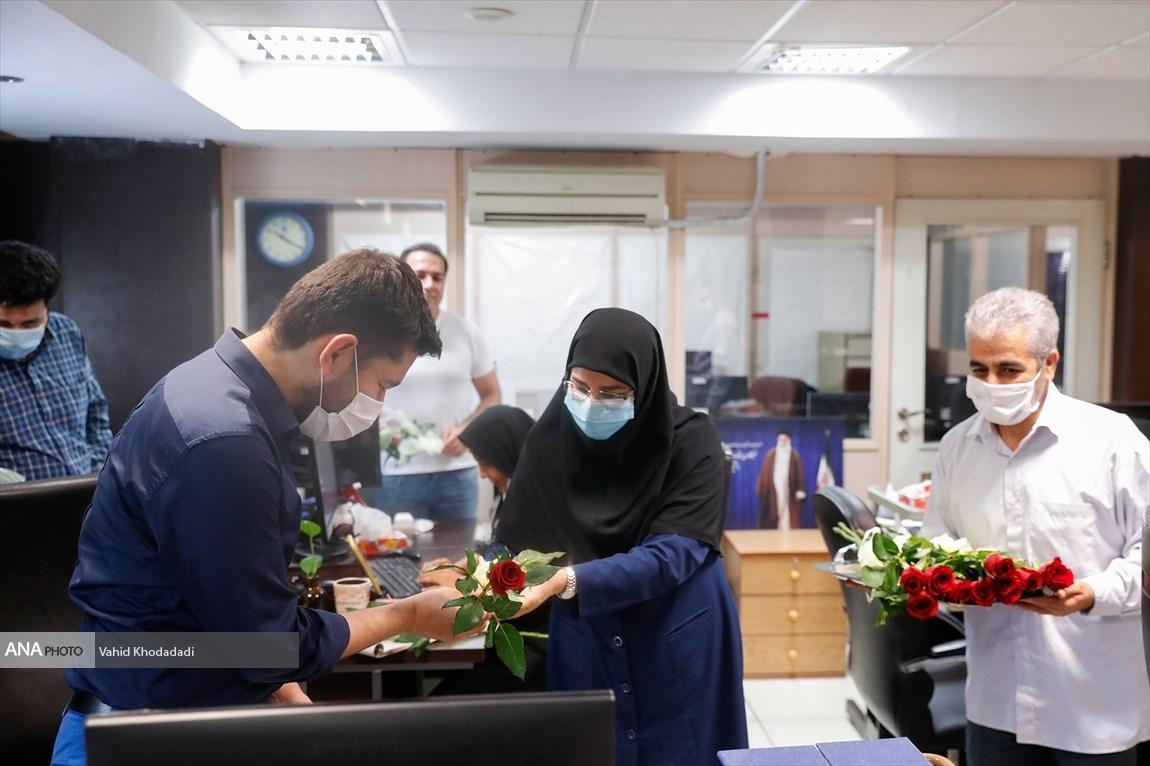 معاون وزیر آموزش وپرورش از خبرگزاری خبرنگاران بازدید کرد