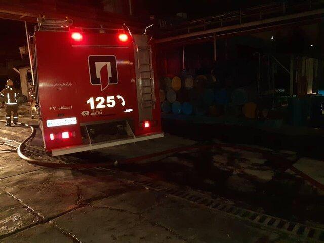 در آتش سوزی پمپ بنزین تاکستان 2 نفر کشته و 6 نفر زخمی شدند