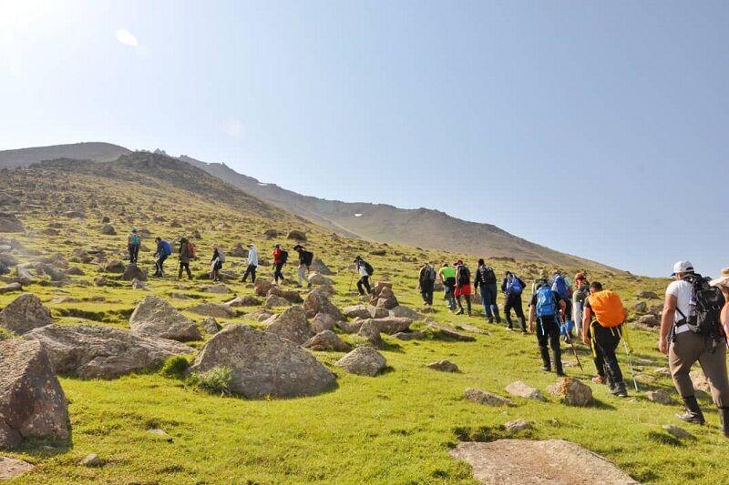 خبرنگاران هیأت کوهنوردی کهگیلویه و بویراحمد رتبه ممتاز کشور را کسب کرد