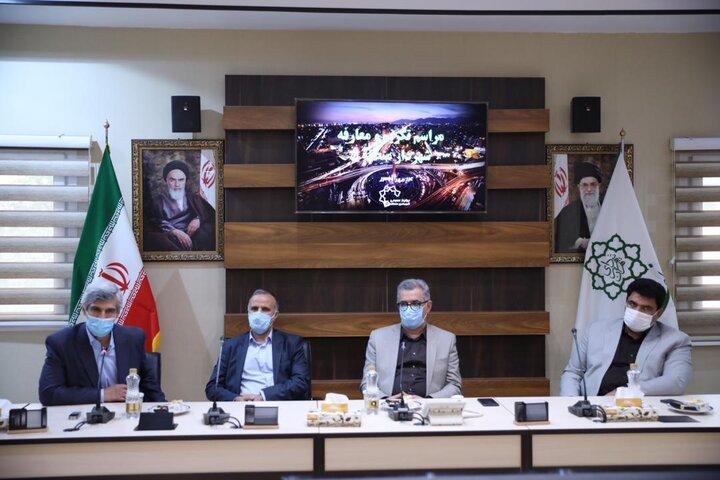 مراسم تودیع و معارفه شهرداران مناطق 2، 3 و 14 برگزار گشت