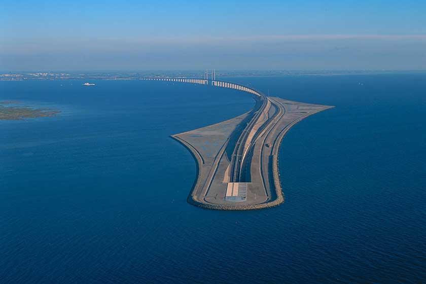 &Oslashresund پل شگفت انگیزی که دانمارک را به سوئد وصل می کند
