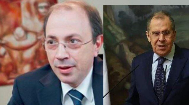خبرنگاران گفت وگوی لاوروف با وزیرخارجه جدید ارمنستان درباره توافق قره باغ