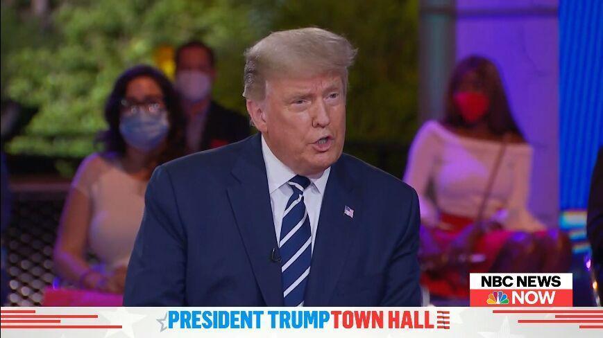 خبرنگاران تناقض گویی های ترامپ: قدرت را منتقل نخواهم کرد