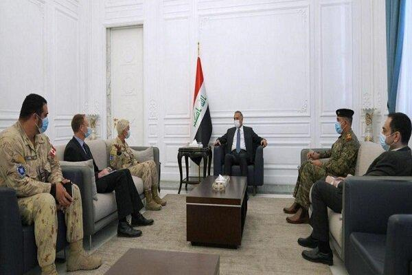 رایزنی الکاظمی با فرمانده نیروهای ناتو در عراق