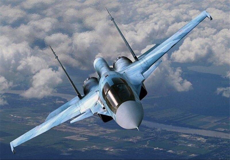 جنگنده سوخوی روسیه سقوط کرد