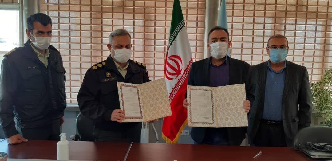 خبرنگاران میراث فرهنگی و نیروی انتظامی برای صیانت آثار تاریخی تهران تفاهم کردند