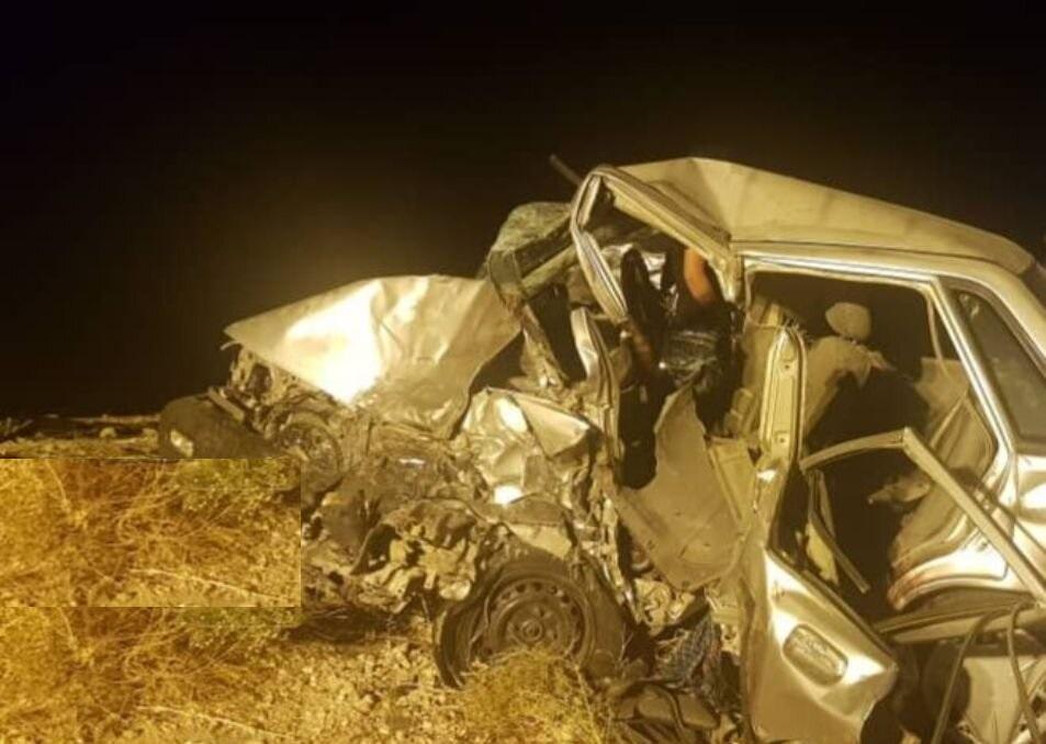 واژگونی خودرو در تاراز اندیکا یک کشته و یک مصدوم بر جا گذاشت