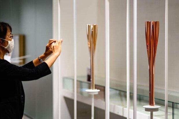 مشعل بازیهای المپیک وپارالمپیک به نمایش عمومی گذاشته می شود