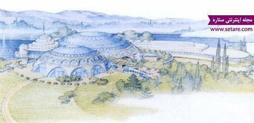 کاخ شمس؛ ساختمان حلزونی شکل