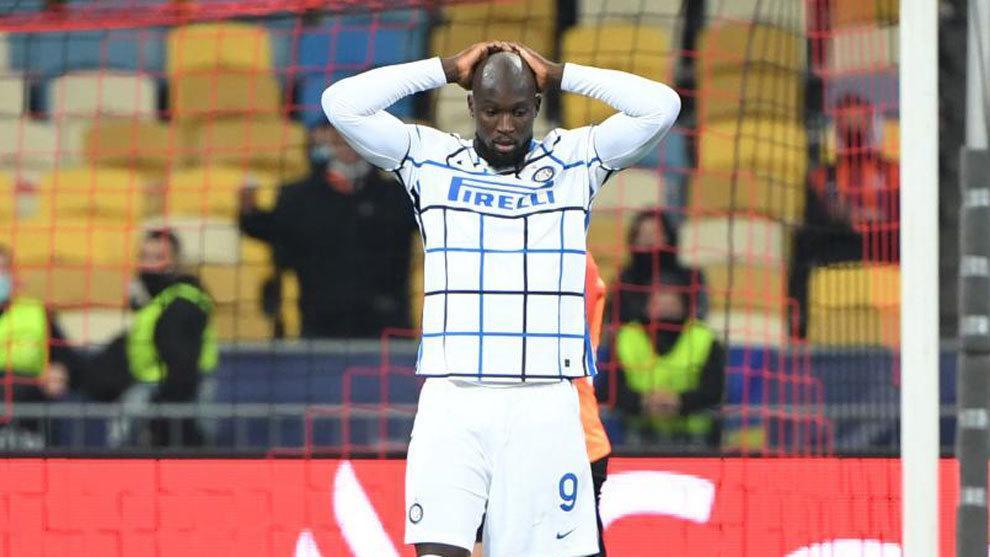 لوکاکو بازی با رئال را از دست داد