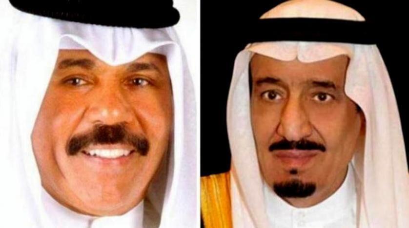 پیغام امیر کویت به ملک سلمان
