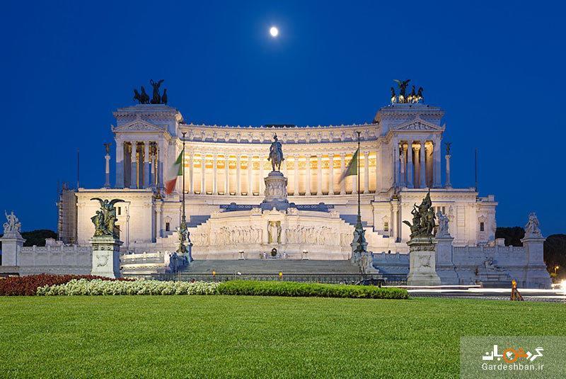 میدان ونیز، نقطه مرکزی شهر رم