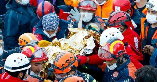 نجات دختربچه 3 ساله از زیر آوار پس از 65 ساعت در ازمیر
