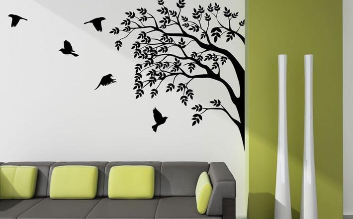 تأثیر نقاشی روی دیوار بر دکوراسیون داخلی