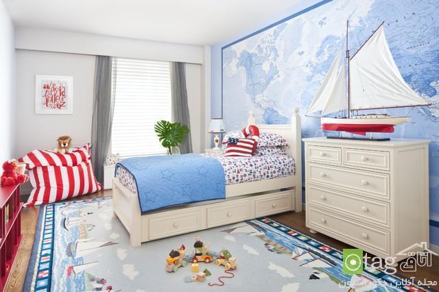 انتخاب رنگ مناسب برای دکوراسیون اتاق کودک