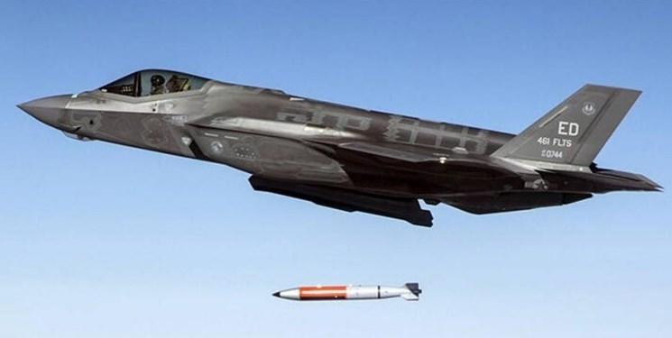 آمریکا پرتاب بمب هسته ای با جنگنده اف-35 را تمرین کرد