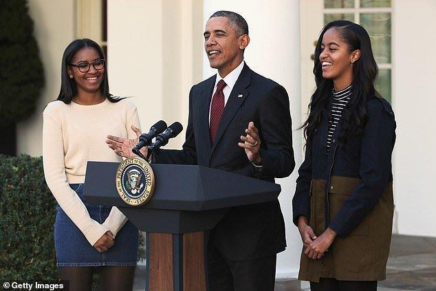 اوباما: دخترانم در اعتراضات مقابله با نژادپرستی تابستان شرکت کرده بودند